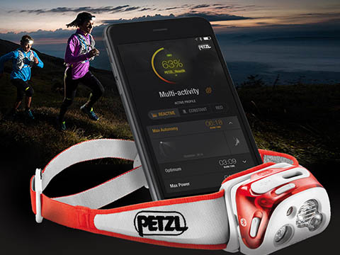 Application mobile connectée Petzl-IoT