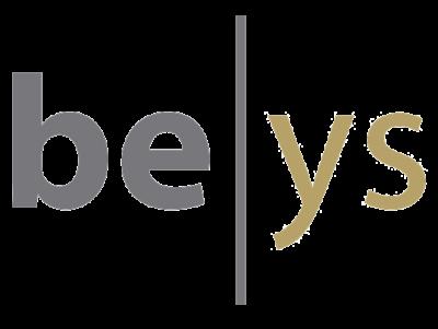 Logo be-ys présent sur le site internet et supports de communication